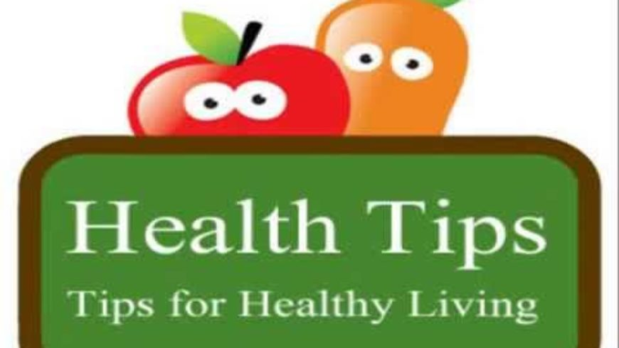 Today's Health Tip – Vegetables!